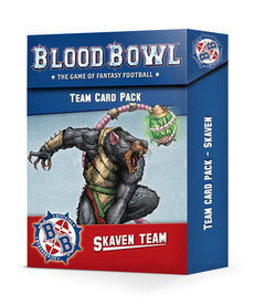 Games Workshop - GAW Skaven Team - Team Card Pack