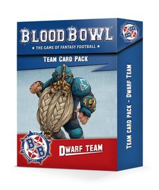 Games Workshop - GAW Dwarf Team - Team Card Pack