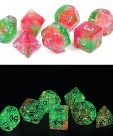 Sirius Dice - SDZ Sirius Dice - Polyhedral 7-Die Set - Lotus