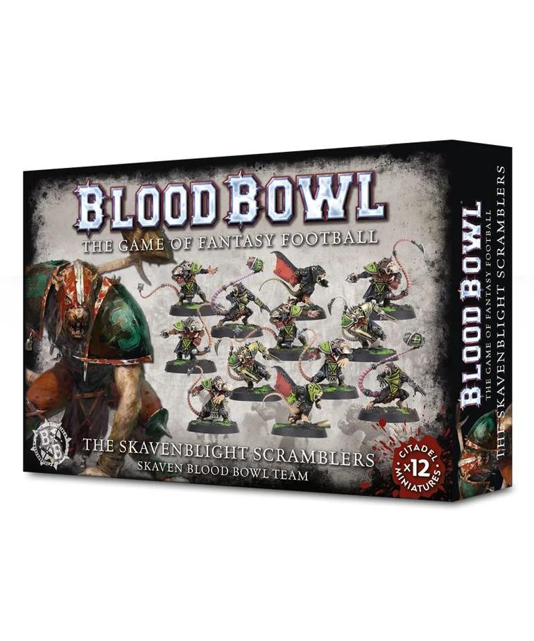 Games Workshop - GAW Blood Bowl - Skaven Team - Skavenblight Scramblers