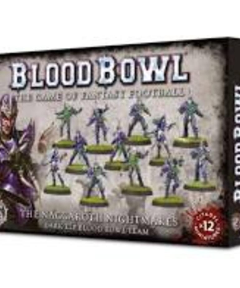 Games Workshop - GAW Blood Bowl - Dark Elf Team - Naggaroth Nightmares