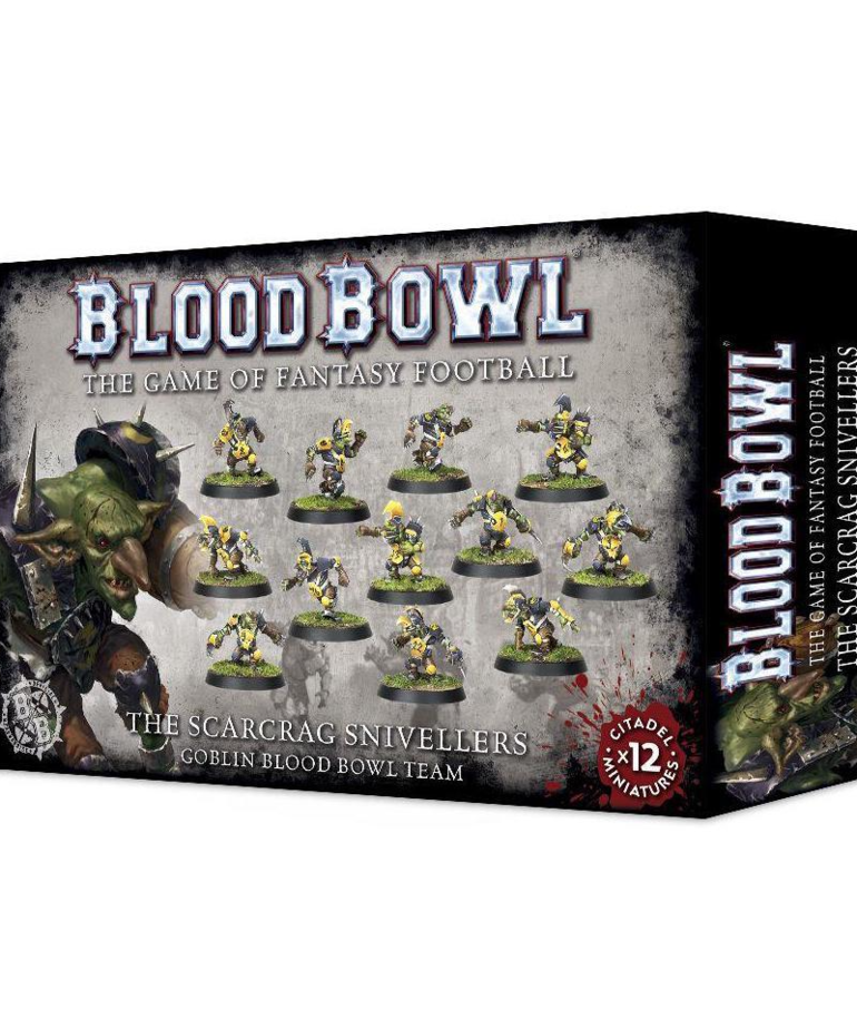 Games Workshop - GAW Blood Bowl - Goblin Team - Scarcrag Snivellers