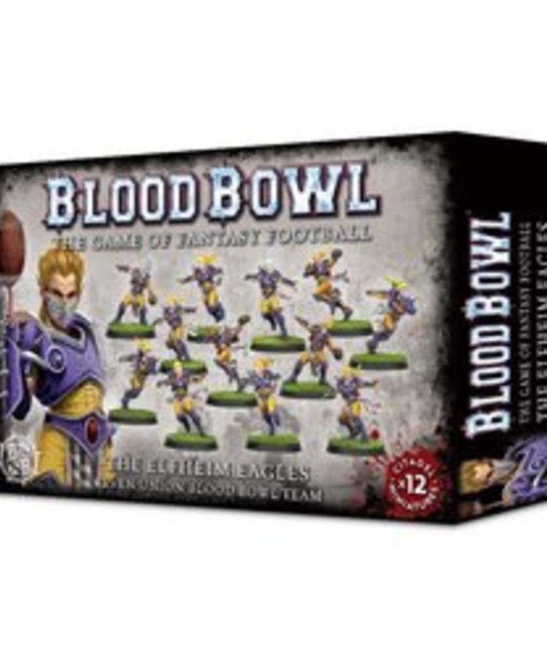 Games Workshop - GAW Blood Bowl - Elven Union Team - The Elfheim Eagles