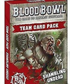 Games Workshop - GAW Shambling Undead - Team Card Pack