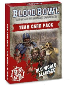 Games Workshop - GAW Old World Alliance - Team Card Pack