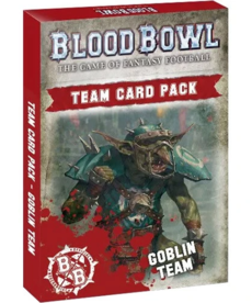 Games Workshop - GAW Blood Bowl - Goblin Team - Team Card Pack