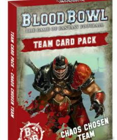 Games Workshop - GAW Chaos Chosen - Team Card Pack