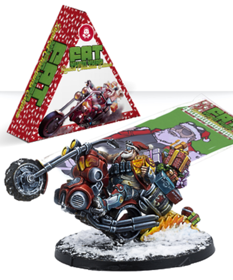 Corvus Belli - CVB Infinity - Fat Yuan Yuan (Limited Christmas Edition)