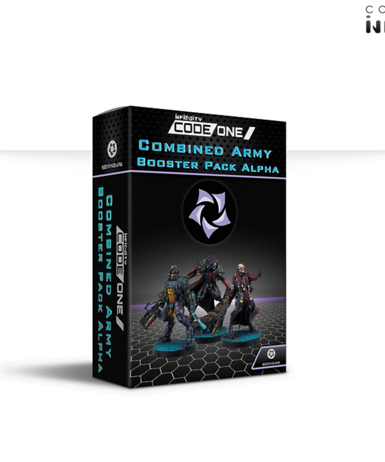 Corvus Belli - CVB Infinity - Combined Army - Booster Pack Alpha