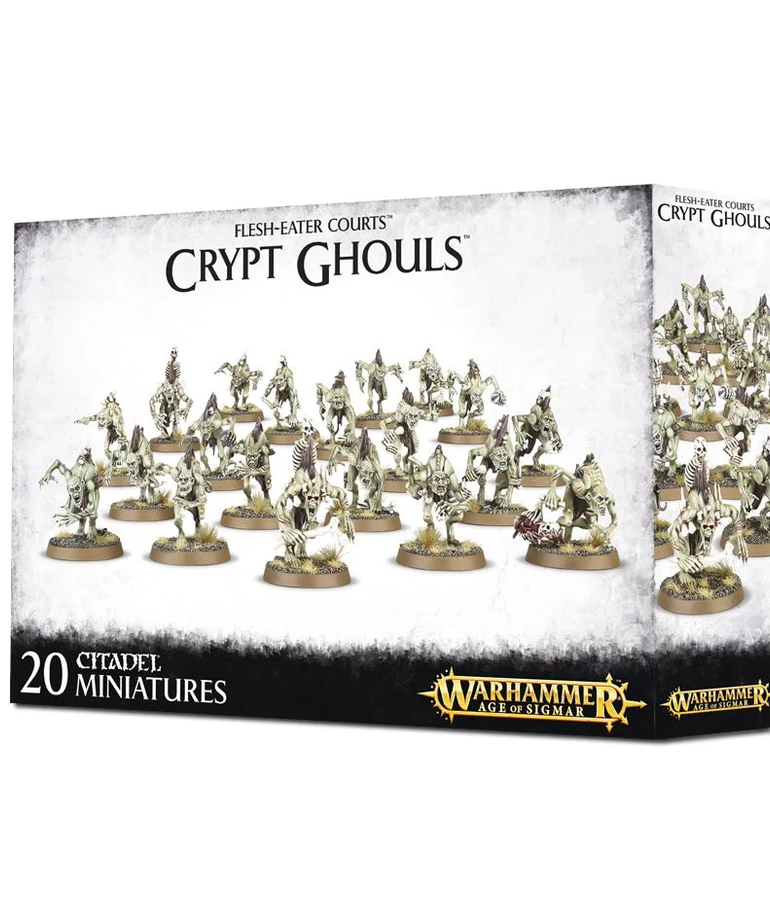 Games Workshop - GAW Warhammer Age of Sigmar: Flesh-Eater Courts - Crypt Ghouls