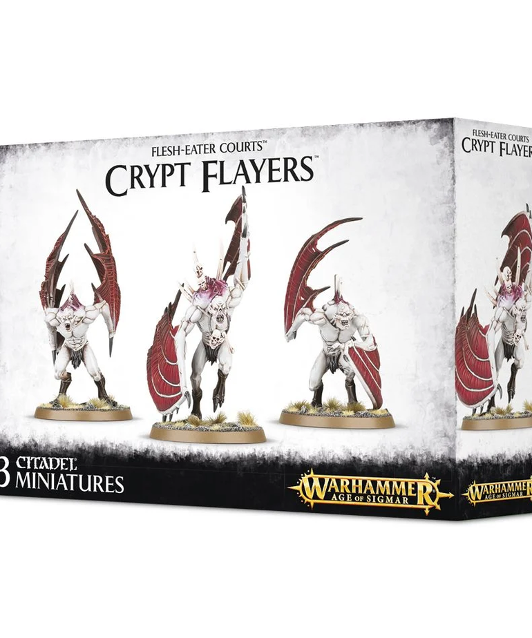 Games Workshop - GAW Warhammer Age of Sigmar - Flesh-Eater Courts - Crypt Flayers