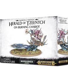 Games Workshop - GAW Fateskimmer, Herald of Tzeentch on Burning Chariot
