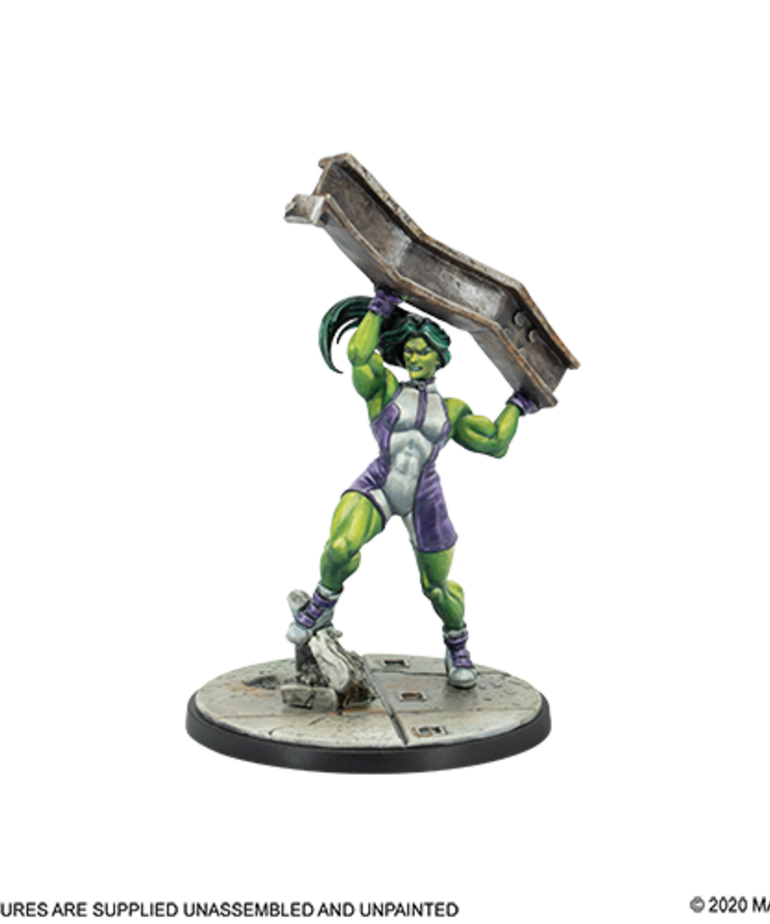Atomic Mass Games - AMG Marvel: Crisis Protocol - She-Hulk - Character Pack