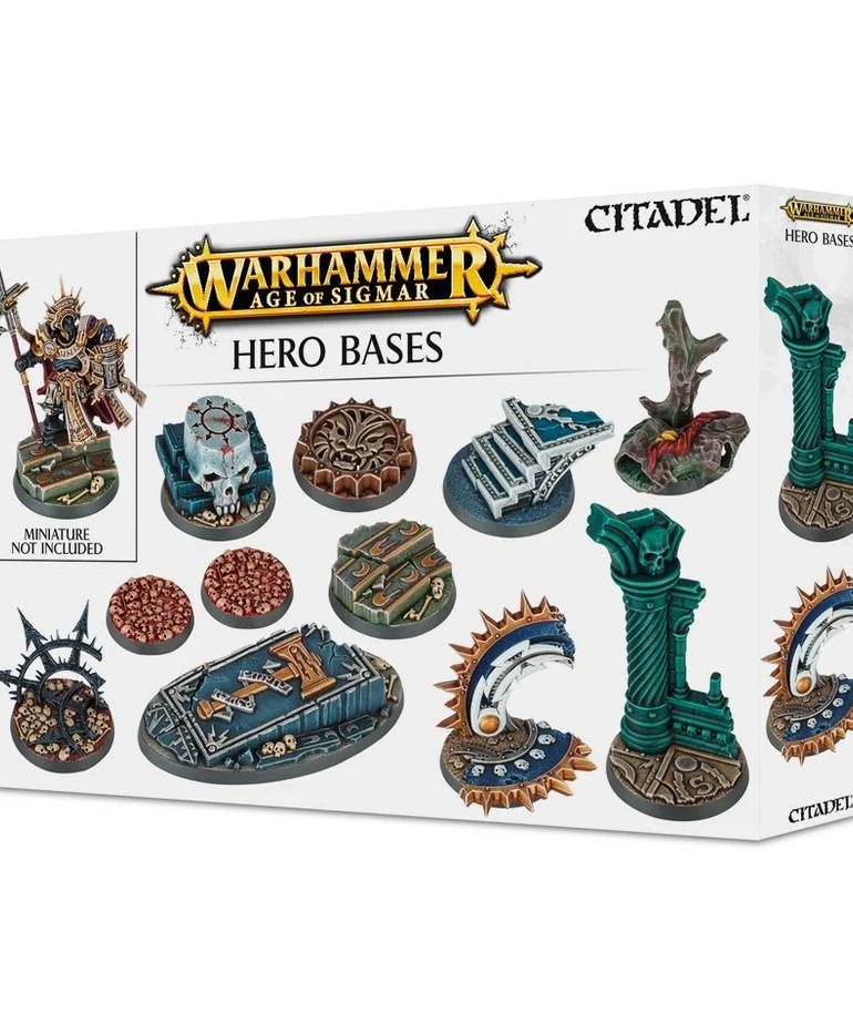 Citadel - GAW Citadel: Warhammer Age of Sigmar - Hero Bases