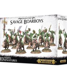 Games Workshop - GAW Bonesplitterz - Savage Boarboys