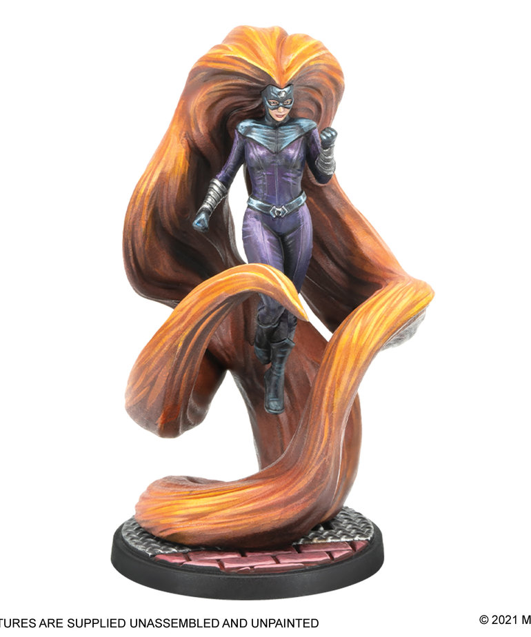 Atomic Mass Games - AMG Marvel: Crisis Protocol - Black Bolt and Medusa - Character Pack