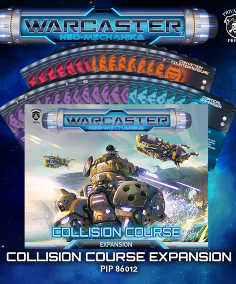 Privateer Press - PIP Warcaster: Neo-Mechanika - Collision Course - Expansion