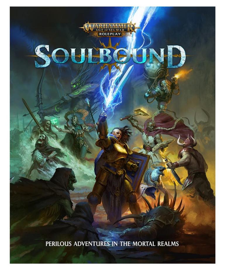 Cubicle 7 - CB7 Warhammer Age of Sigmar - Soulbound - RPG
