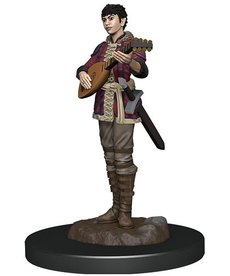 WizKids - WZK Female Half-Elf Bard
