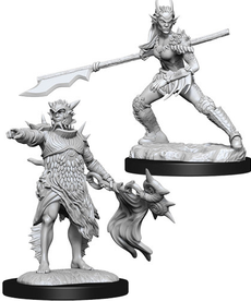 WizKids - WZK Coralhelm Commander & Halimar Wavewatch - Merfolk