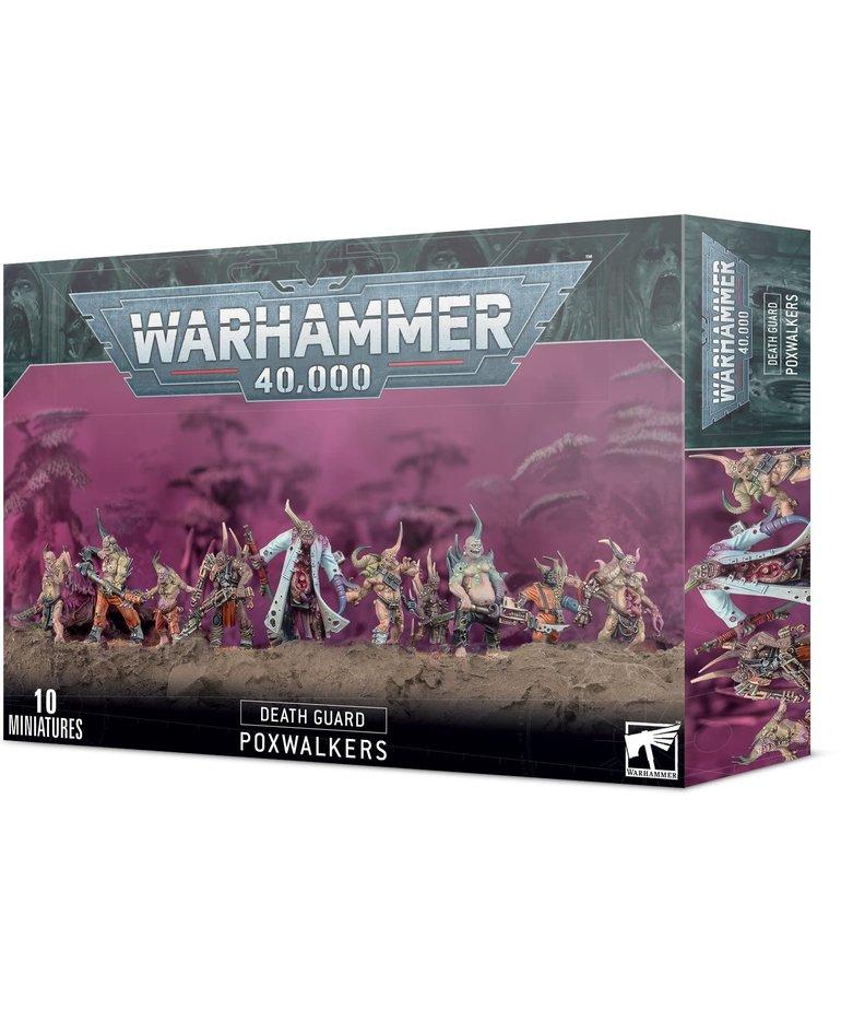 Games Workshop - GAW Warhammer 40k - Death Guard - Poxwalkers