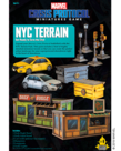 Atomic Mass Games - AMG Marvel: Crisis Protocol - NYC - Terrain Pack
