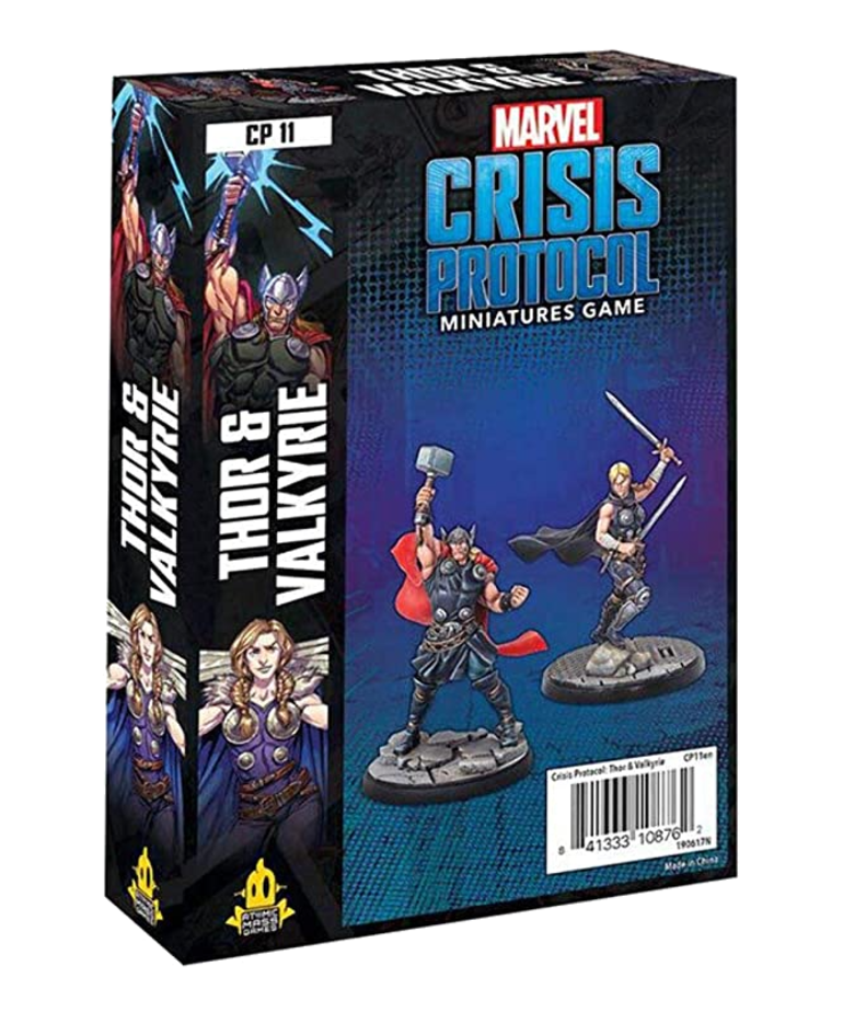 Marvel: Crisis Protocol - Thor & Valkyrie - Character Pack - Discount Games  Inc