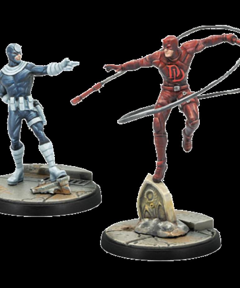 Asmodee - ASM Marvel: Crisis Protocol - Bullseye & Daredevil - Character Pack