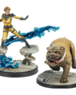 Atomic Mass Games - AMG Marvel: Crisis Protocol - Crystal and Lockjaw - Character Pack