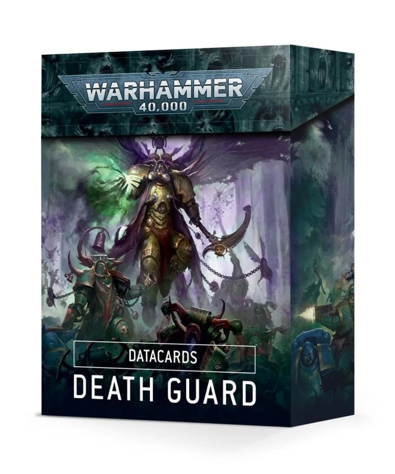Games Workshop - GAW Warhammer 40K - Datacards - Death Guard