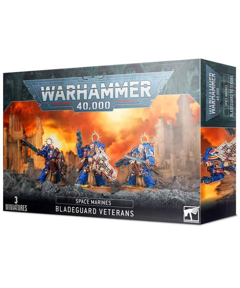 Games Workshop - GAW Warhammer 40k - Space Marines - Bladeguard Veterans - NO REBATE