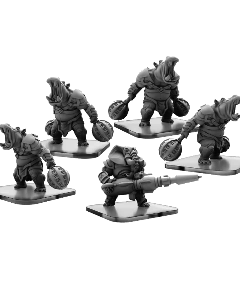 Privateer Press - PIP Monsterpocalypse - Legion of Mutates - Bashers & Blaster - Unit