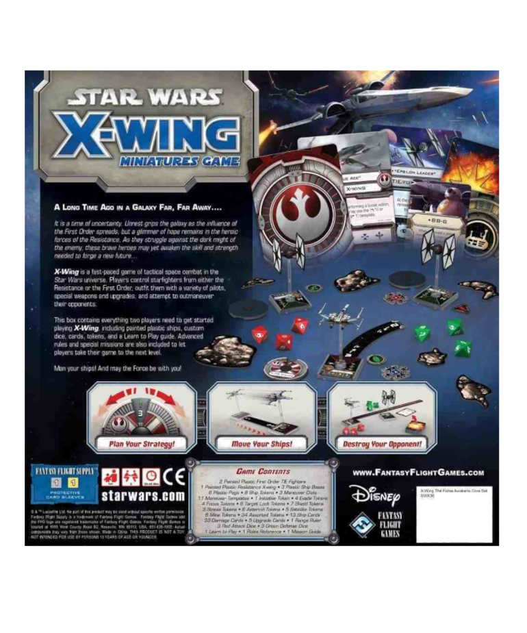 Atomic Mass Games - AMG Clearance - Star Wars X-Wing 1E - The Force Awakens Core Set
