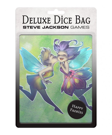 Steve Jackson Games - SJG Deluxe Dice Bag: Happy Faeries
