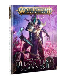 Games Workshop - GAW Hedonites of Slaanesh Battletome NO REBATE