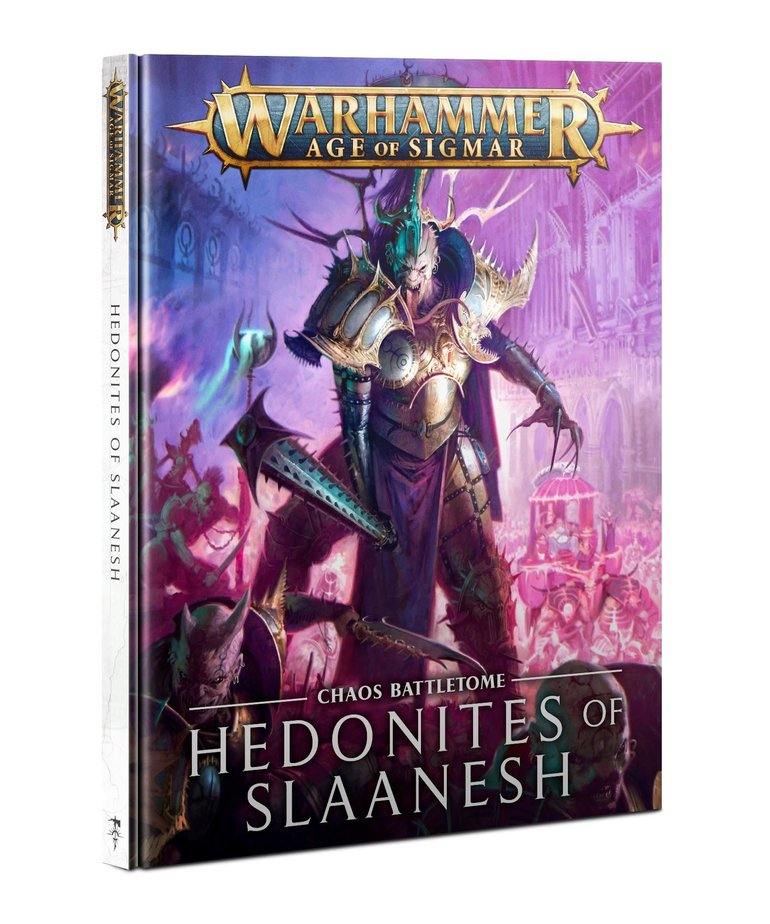 Games Workshop - GAW Warhammer: Age of Sigmar - Chaos Battletome: Hedonites of Slaanesh - NO REBATE