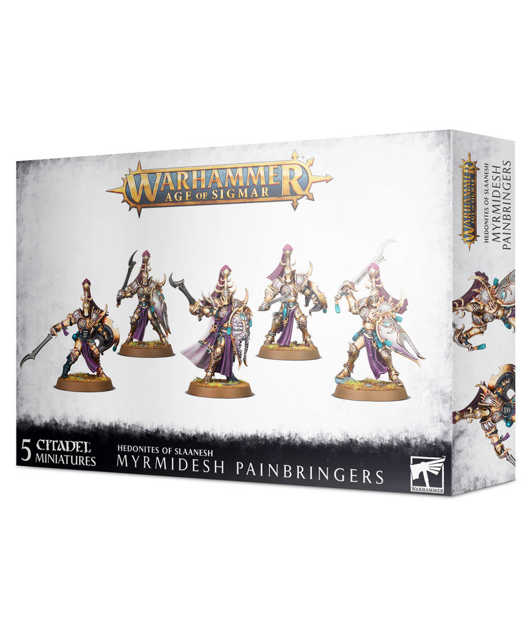 Privateer Press - PIP Warhammer: Age of Sigmar - Hedonites of Slaanesh - Myrmidesh Painbringers - NO REBATE