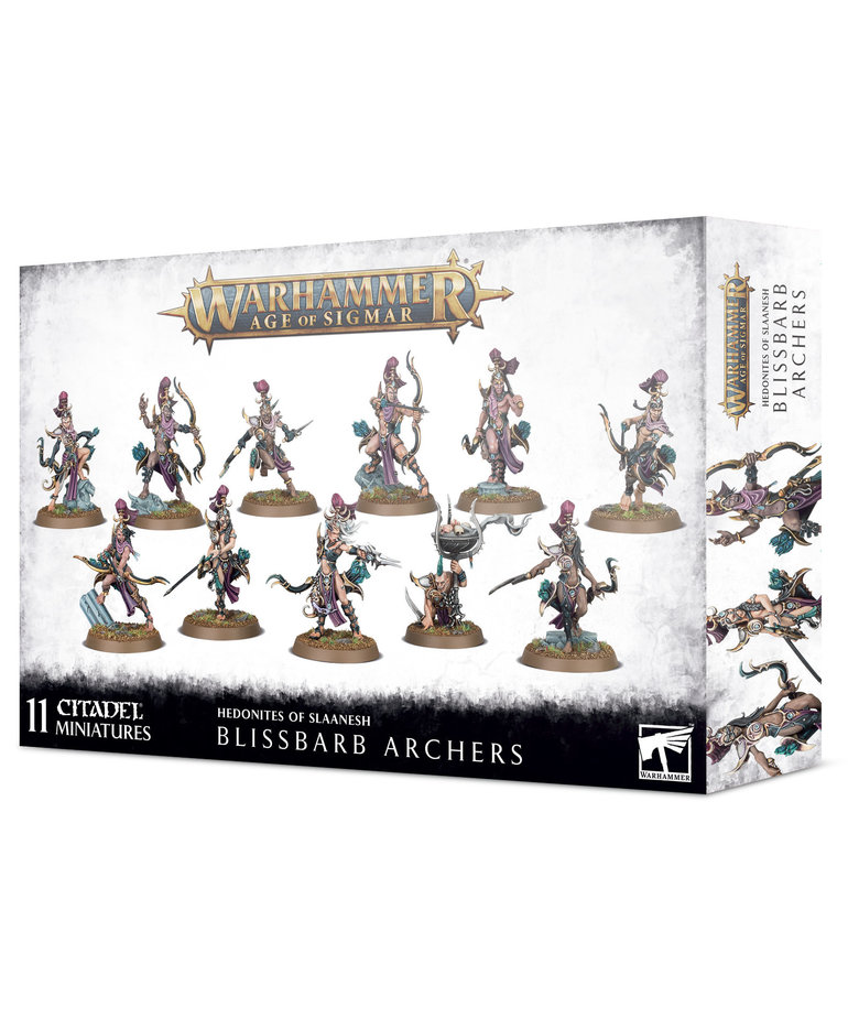 Games Workshop - GAW Warhammer: Age of Sigmar - Hedonites of Slaanesh - Blissbarb Archers