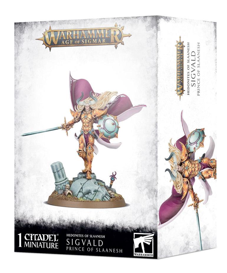 Games Workshop - GAW PRESALE Warhammer: Age of Sigmar - Hedonites of Slaanesh - Sigvald, Prince of Slaanesh - 02/20/2021 - NO REBATE