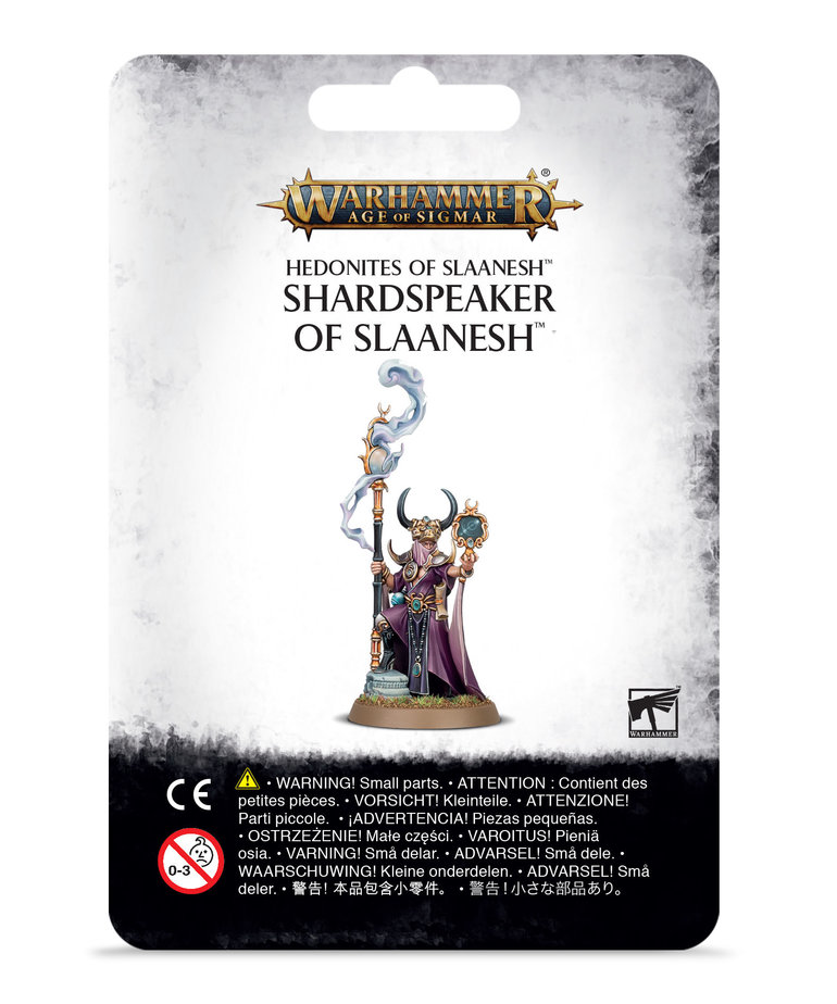 Games Workshop - GAW Warhammer: Age of Sigmar - Hedonites of Slaanesh - Shardspeaker of Slaanesh - NO REBATE