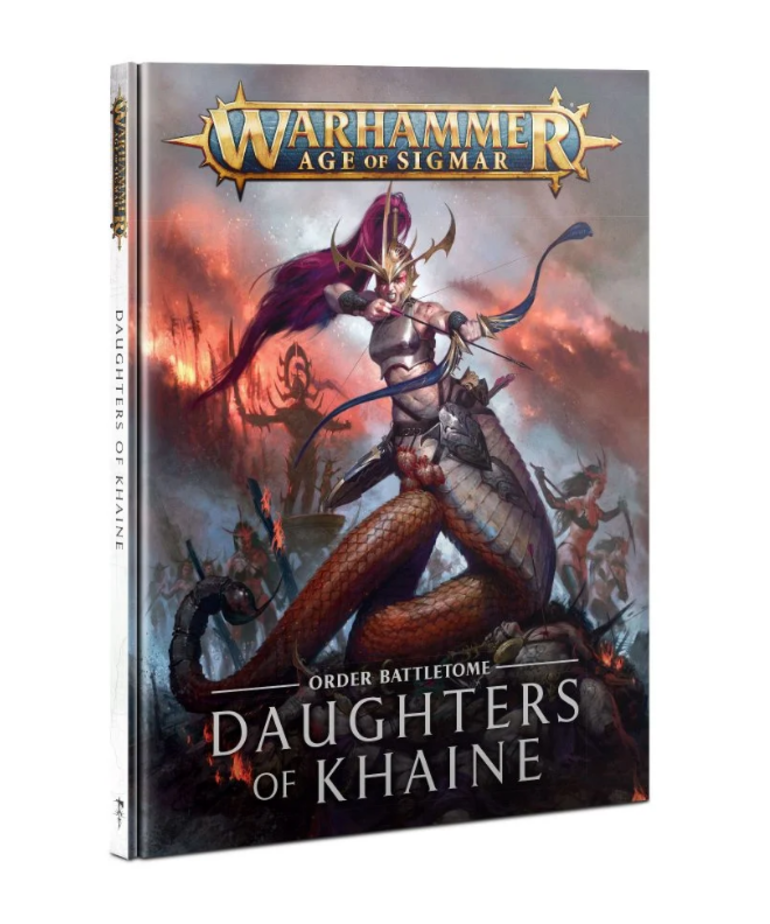 Games Workshop - GAW Warhammer: Age of Sigmar - Order Battletome: Daughters of Khaine - NO REBATE