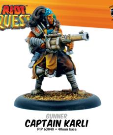 Privateer Press - PIP Captain Karli