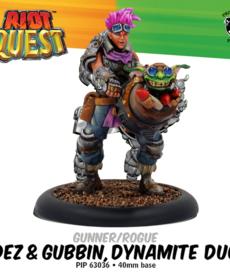 Privateer Press - PIP Dez & Gubbin, Dynamite Duo