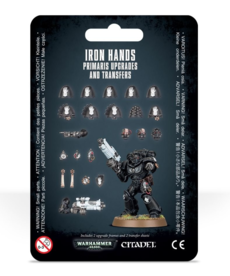 Games Workshop - GAW Iron Hands Primaris Upgrades & Transfers