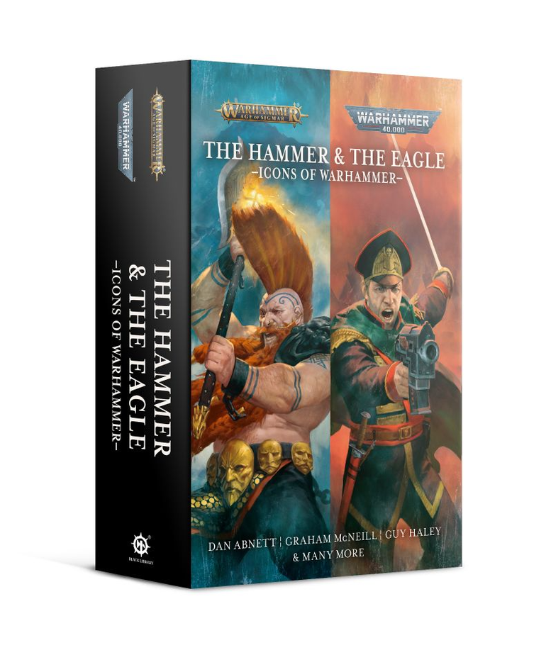 Games Workshop - GAW Black Library - Warhammer 40K - Age of Sigmar - Icons of Warhammer - The Hammer & The Eagle