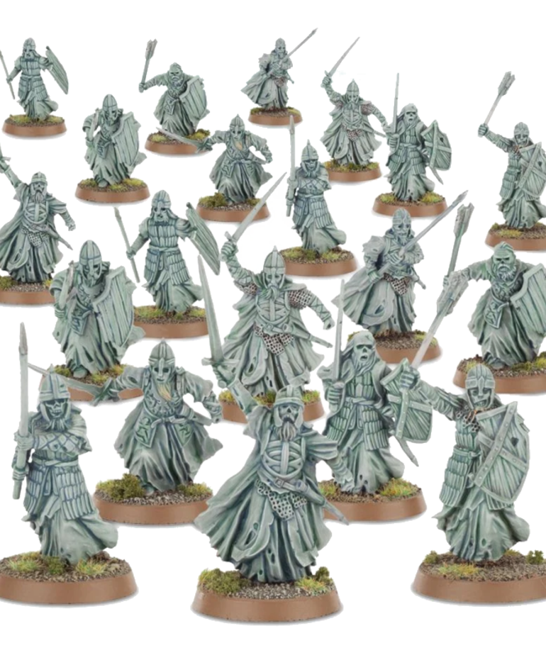 Games Workshop - GAW Middle-Earth: The Lord of the Rings - Armies for Good - Warriors of the Dead