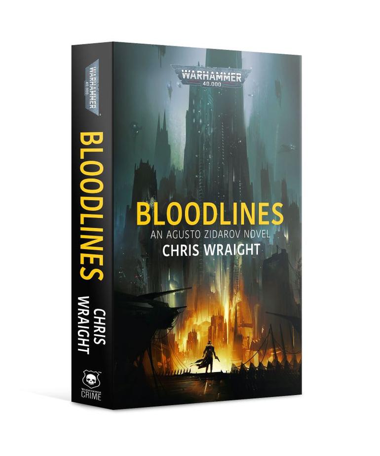 Games Workshop - GAW Black Library - Warhammer 40K - Agusto Zidarov - Bloodlines