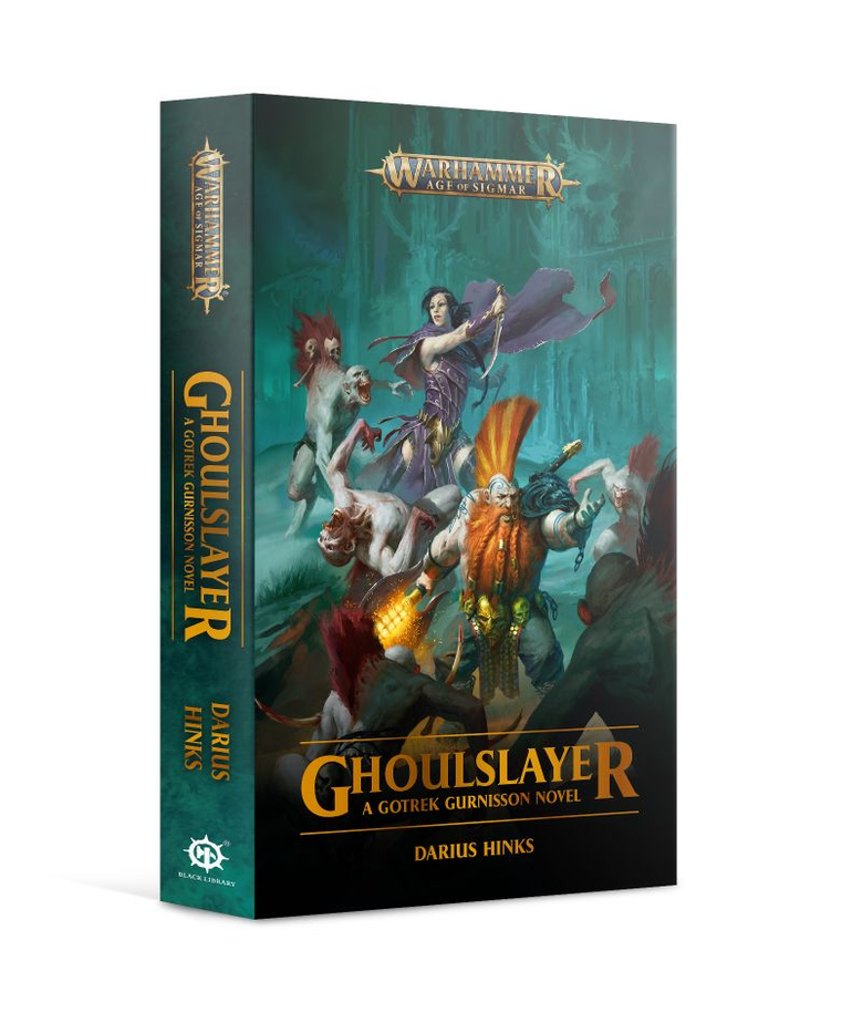 Games Workshop - GAW Black Library - Warhammer: Age of Sigmar - Gotrek Gurnisson - Ghoulslayer