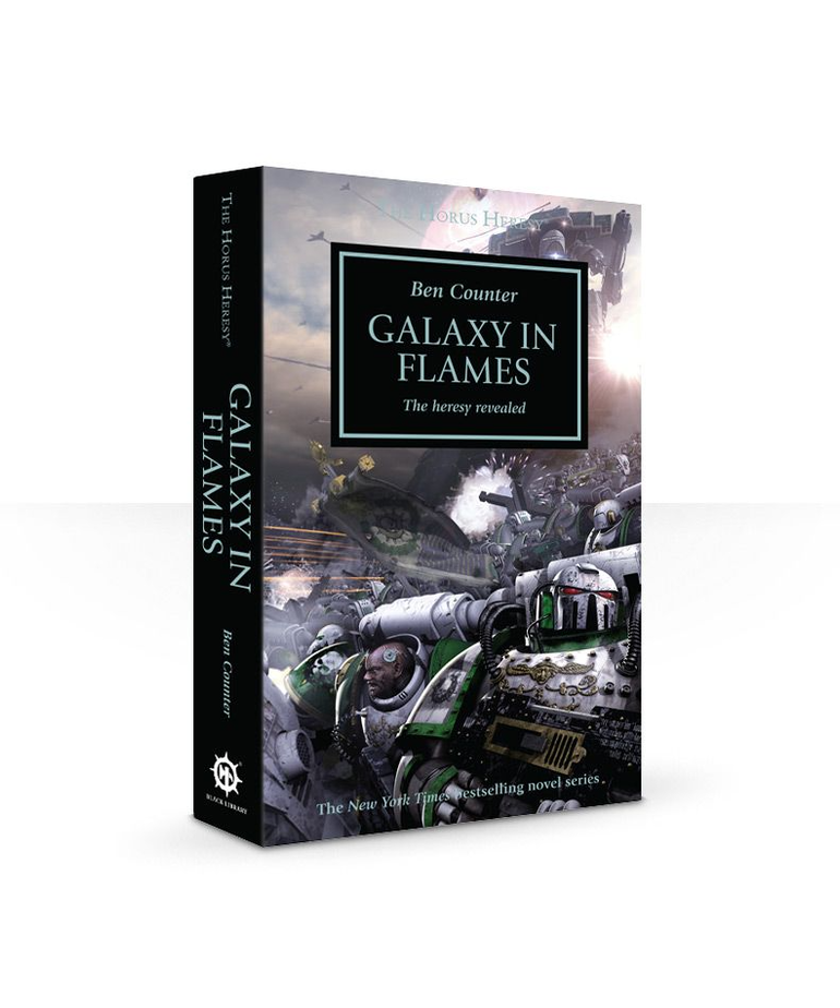 Games Workshop - GAW Black Library - The Horus Heresy 3 - Galaxy in Flames: The Heresy Revealed