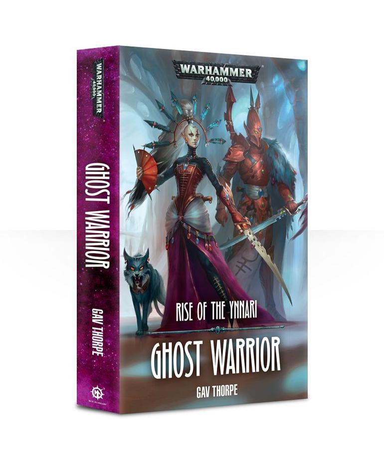 Games Workshop - GAW Black Library - Warhammer 40K - Aeldari - Ghost Warrior: Rise of the Ynnari